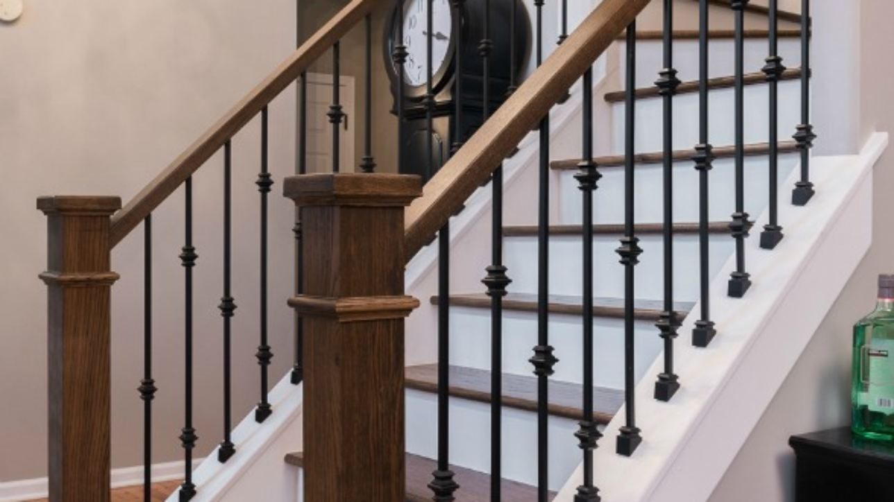 Design Components Of A Staircase Remodel Marvelous Woodworking